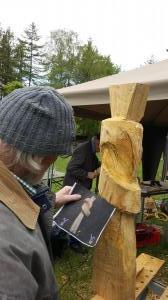 Knoten / Holz